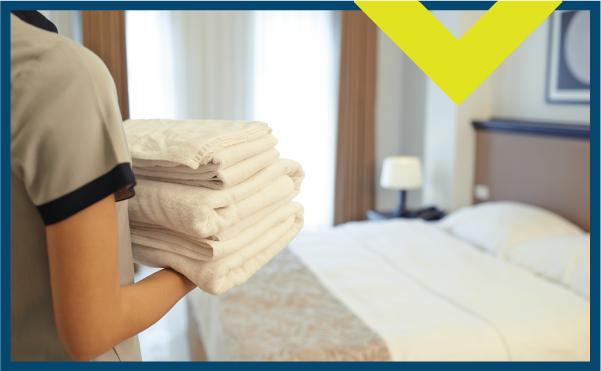 lavanderia de hotel motel