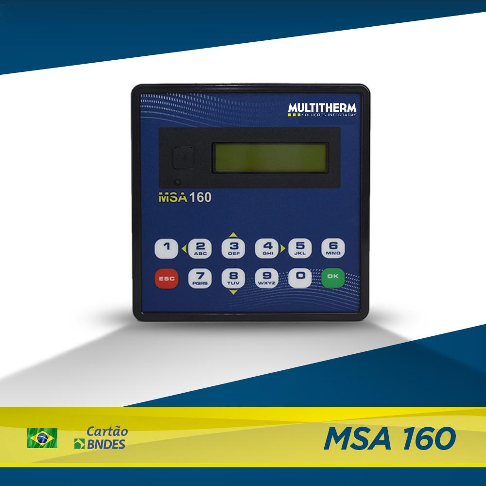 controlador para lavanderia MSA 160