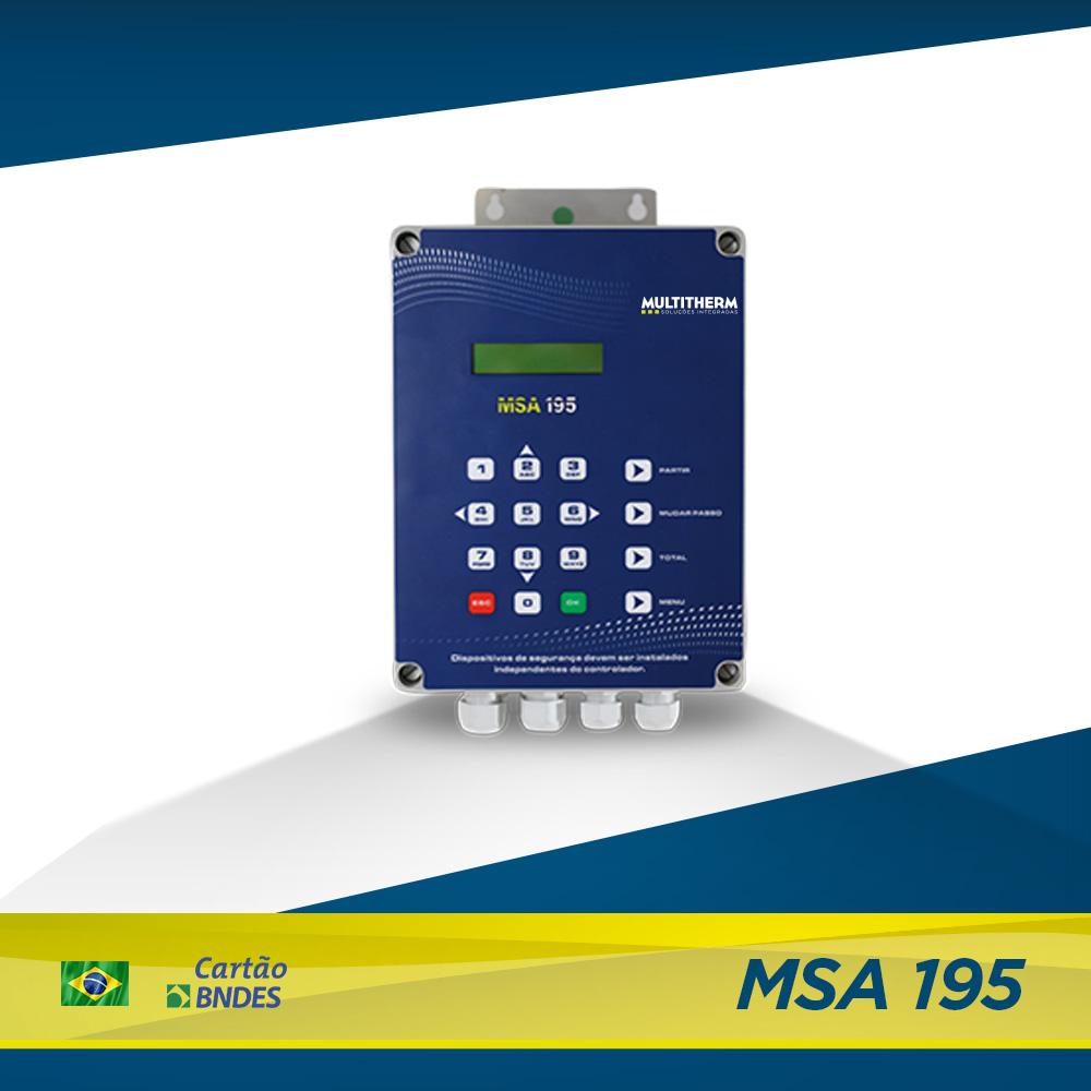 controlador para lavanderia MSA 195