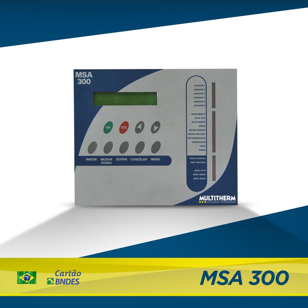 controlador para lavanderia MSA 300