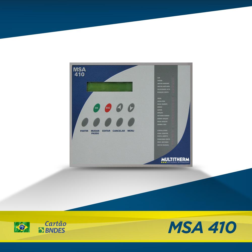 controlador para lavanderia jeans MSA 410