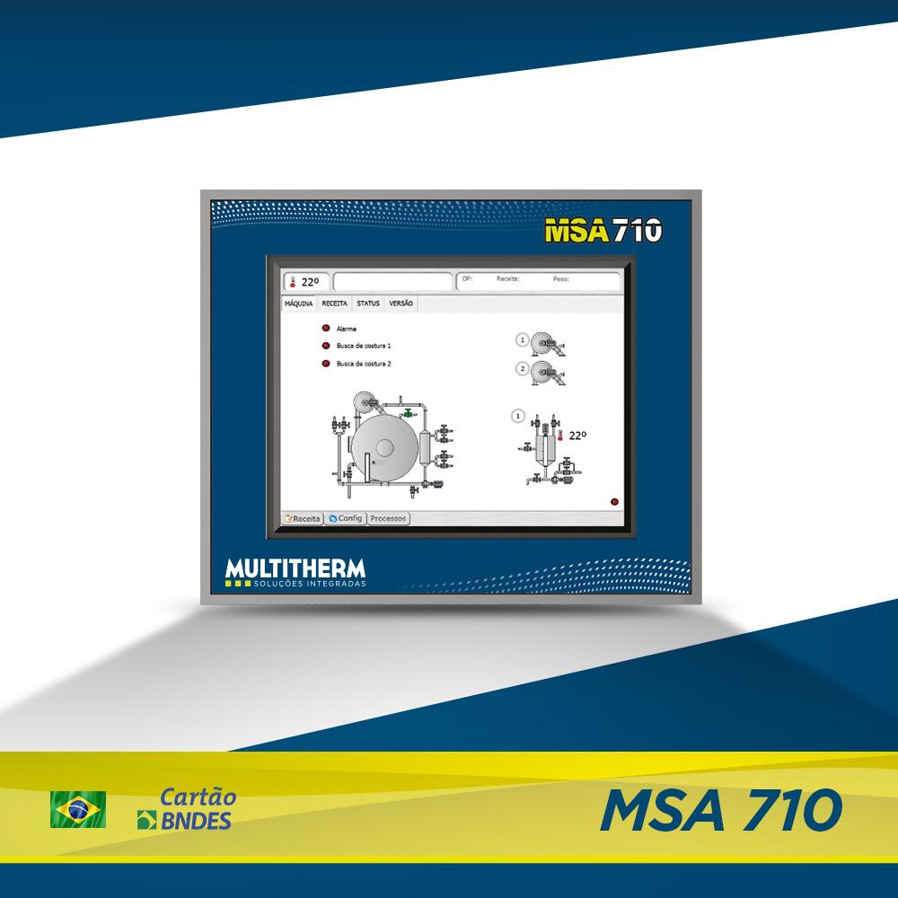 controlador para tinturaria MSA 710